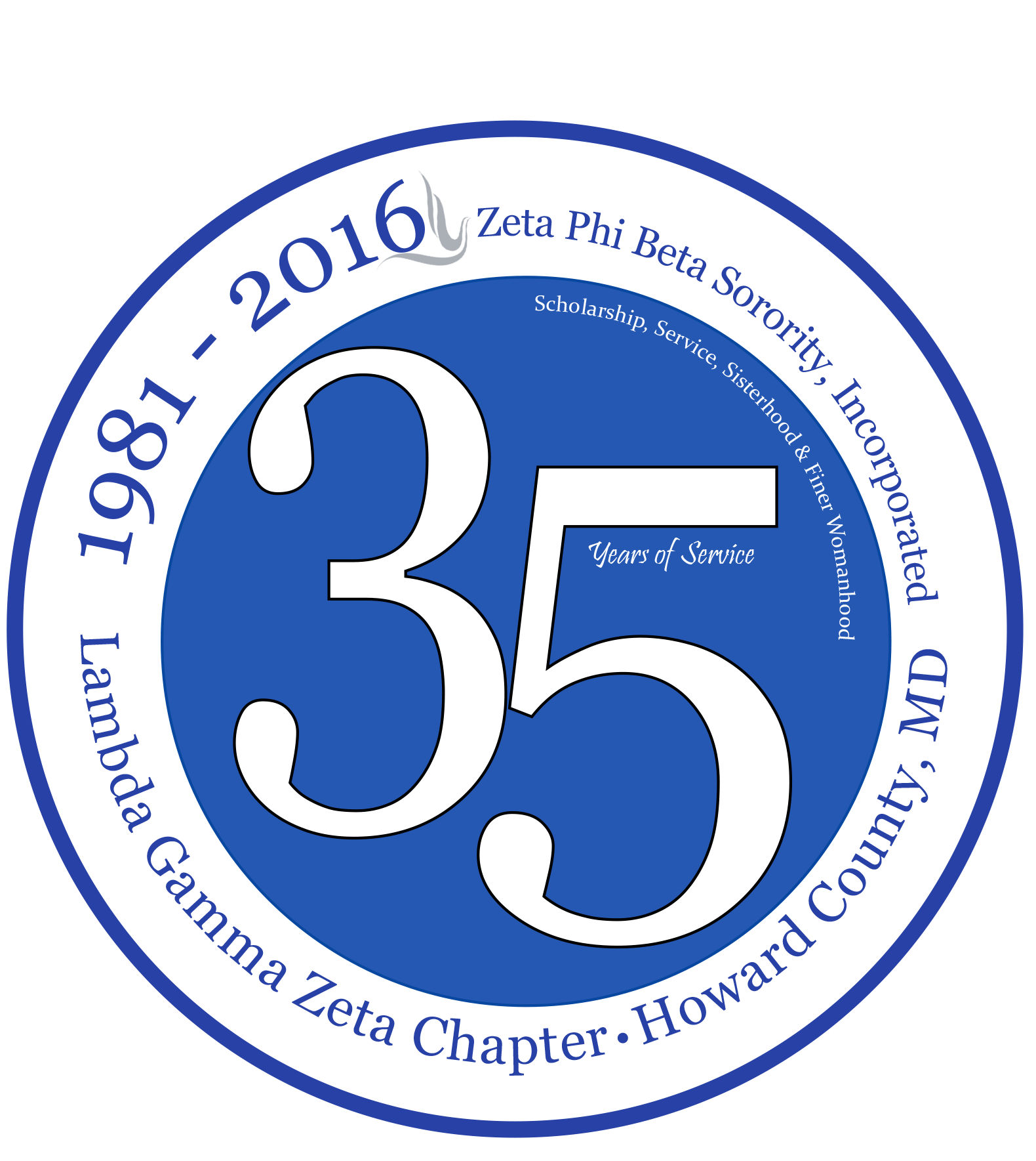 Zeta phi beta sorority inc serves howard county for 35 years lambda gamma zeta chapter has also supported national organizations including march of dimes national multiple sclerosis society and the american cancer buycottarizona